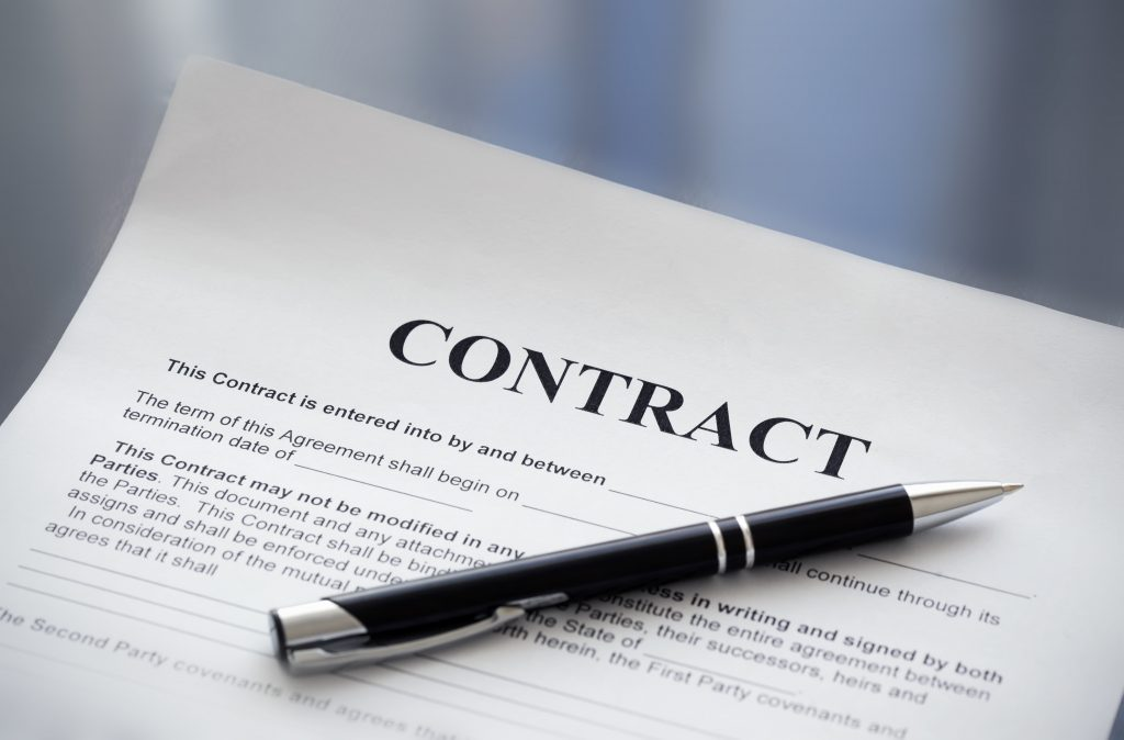How to buy property contract